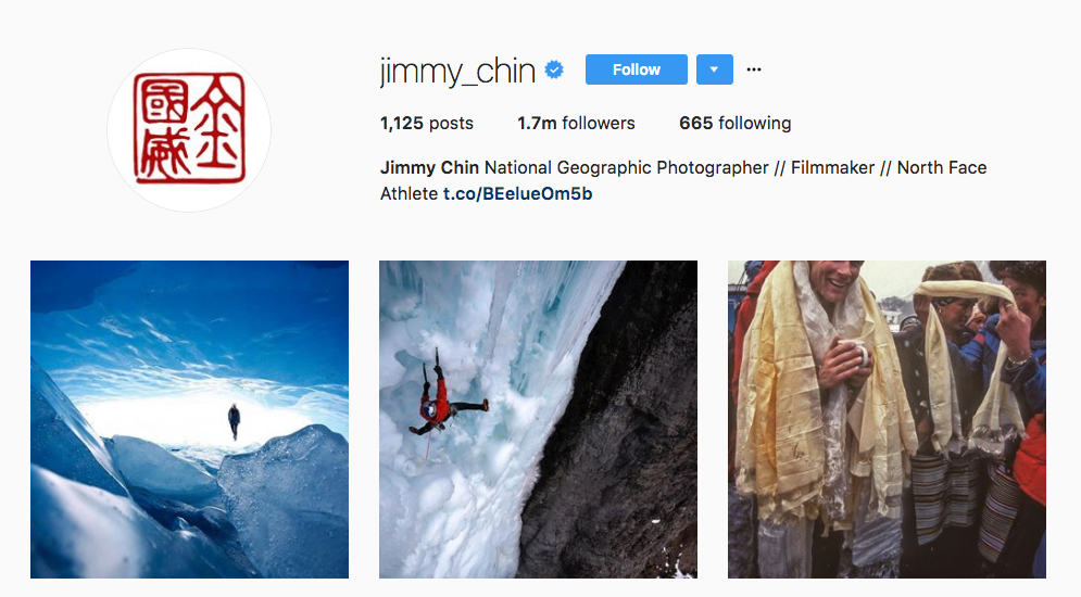 Jilmmy Chin Photography Influencer