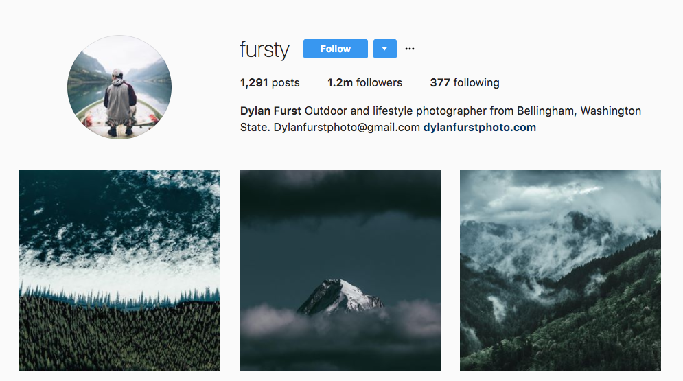 Dylan Furst Top Photography Influencer
