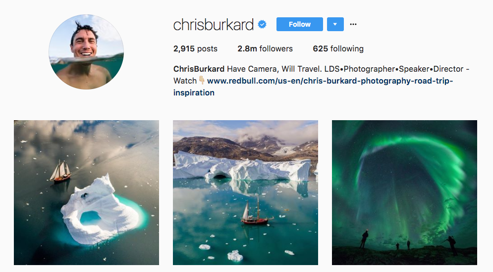 Chris Bukard Top Photography Influencer