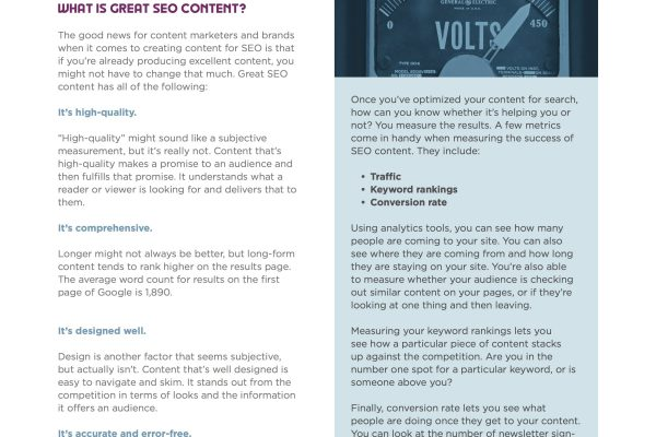 eBook Content Creation for SEO 3
