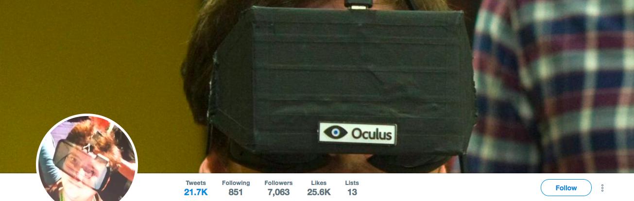 Ian Hamilton Top VR Influencer
