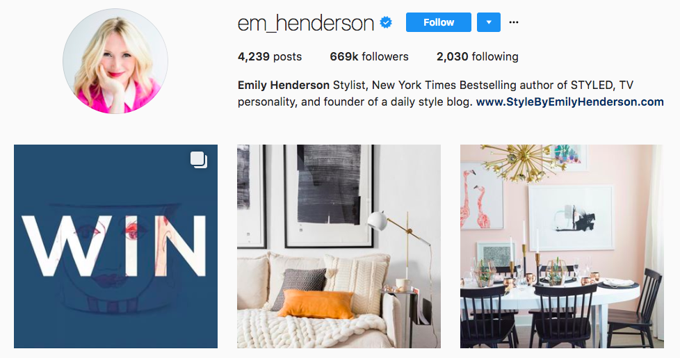 Top brand influencers 25 you should know izea for Home design influencers