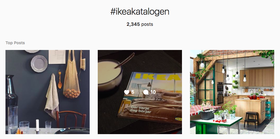 IKEA User-Generated Content