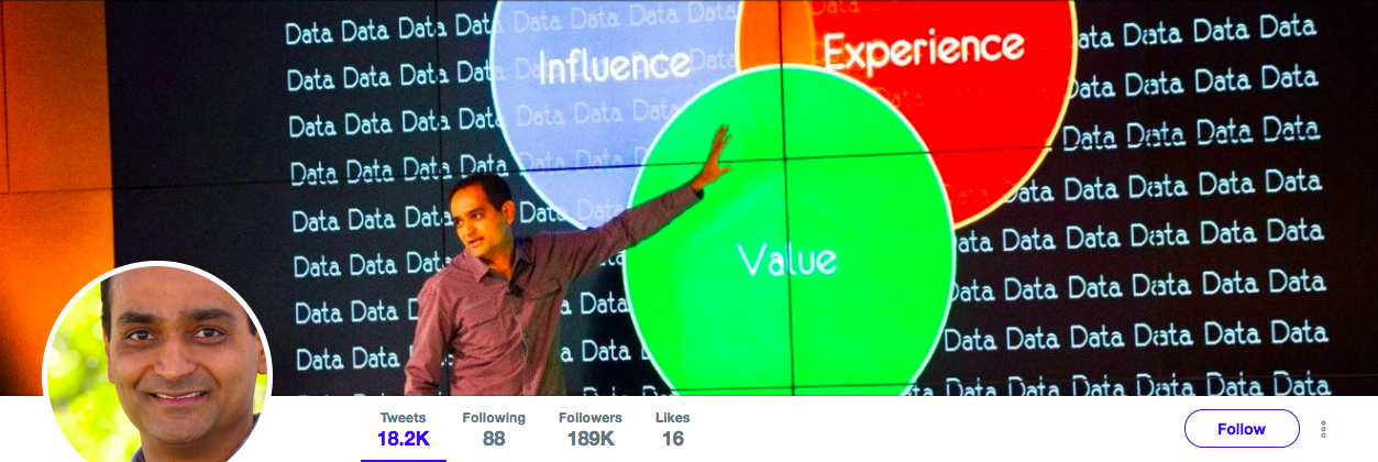 Avinash Kaushik Top Marketing Influencer