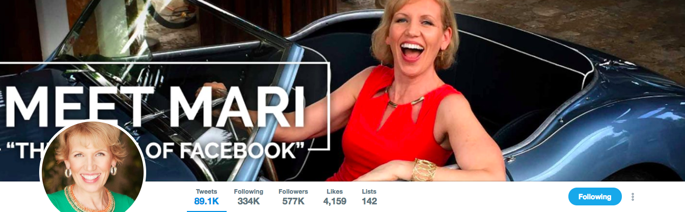 Mari Smith TOp Marketing Influencer