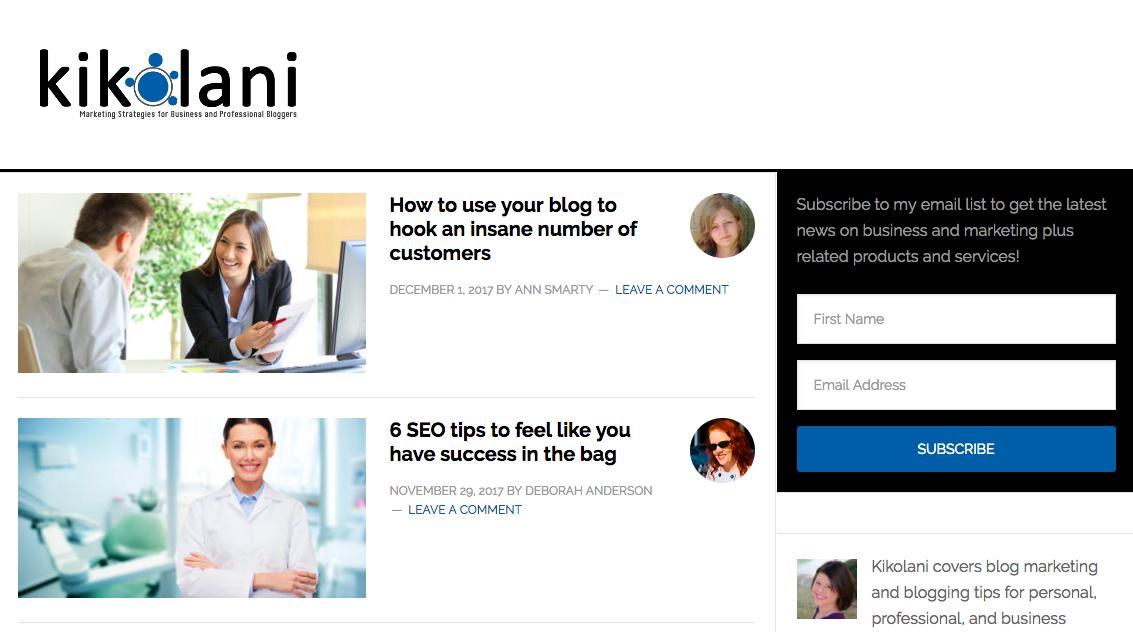 Kristi Hines Top Blog Content Writer