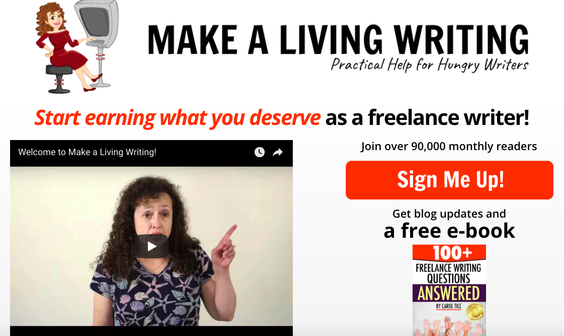 Top Blog COntent Writers Carol Tice