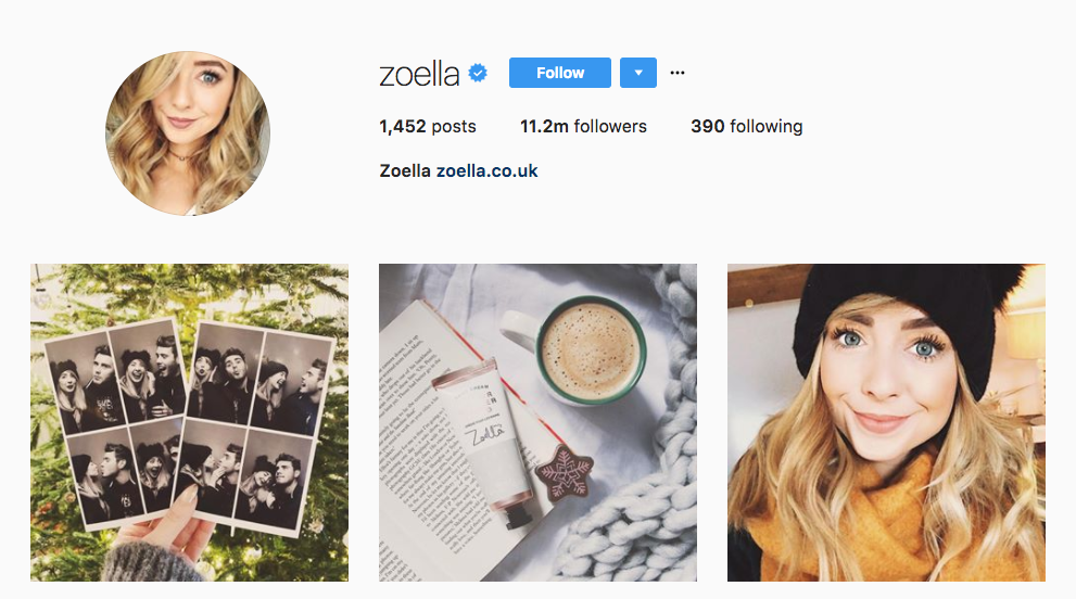 Top Millennial Influencers Zoella