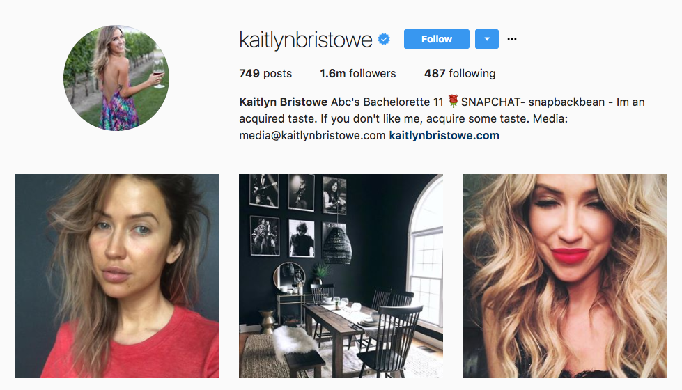 Kaitlyn Bristowe Top Ecommerce Influencer
