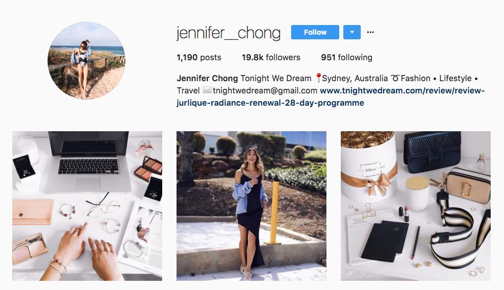 Jennifer Chong Top Ecommerce Influencer