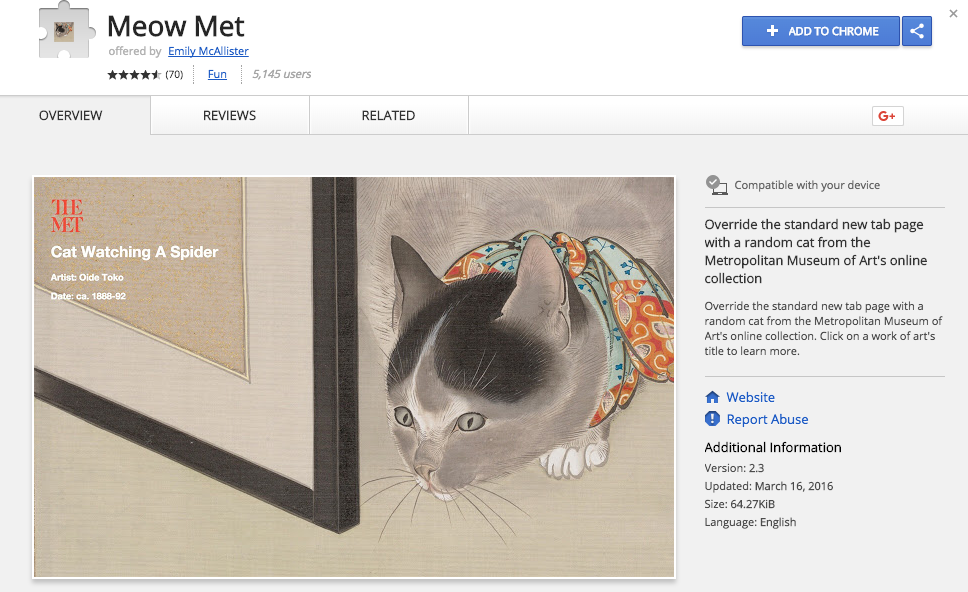 Inspiring Content Marketing Meow Met