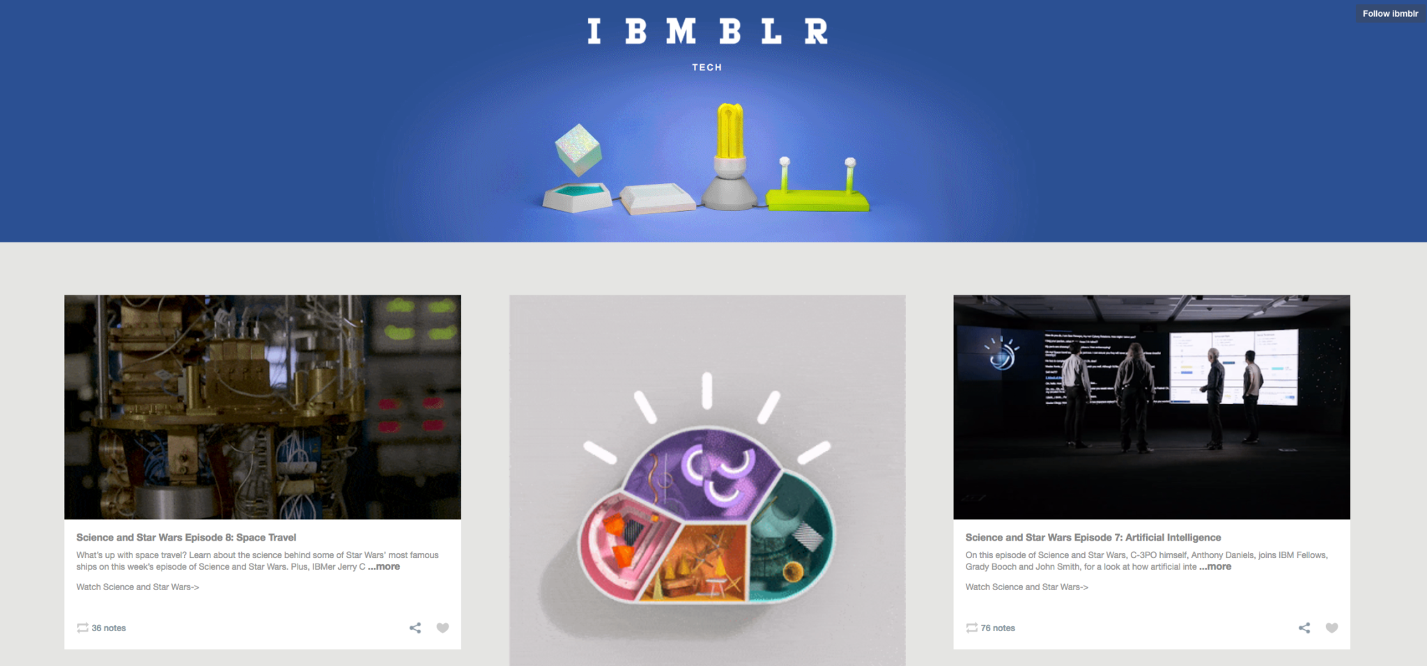 IBMBLR Inspiring Content Marketing