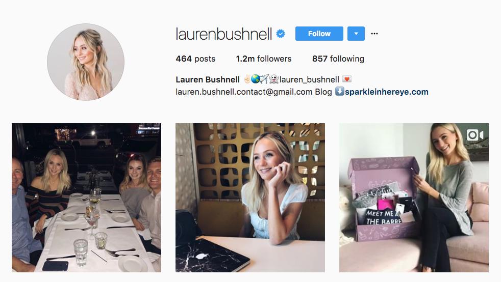 Lauren Bushnell TOp Ecommerce Influencer