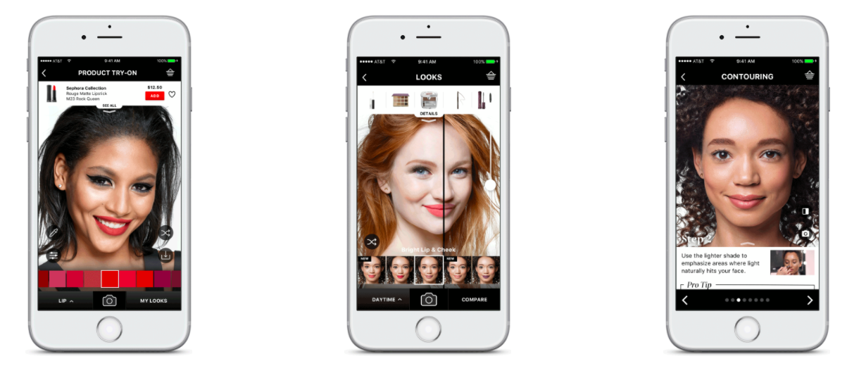 Sephora Visual Artist Augmented Reality Content Marketing