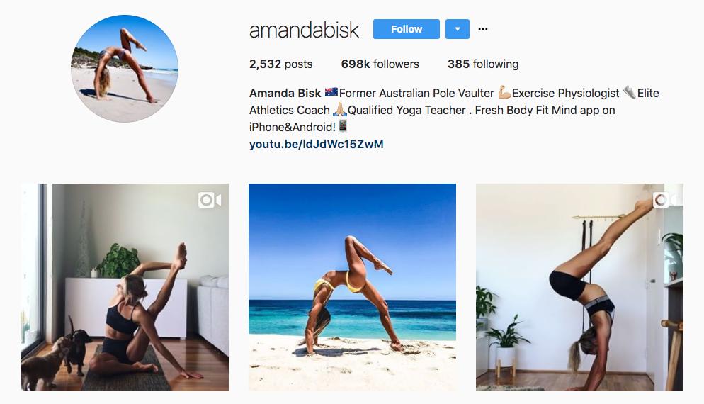 Amanda Bisk Top Healthcare Influencer