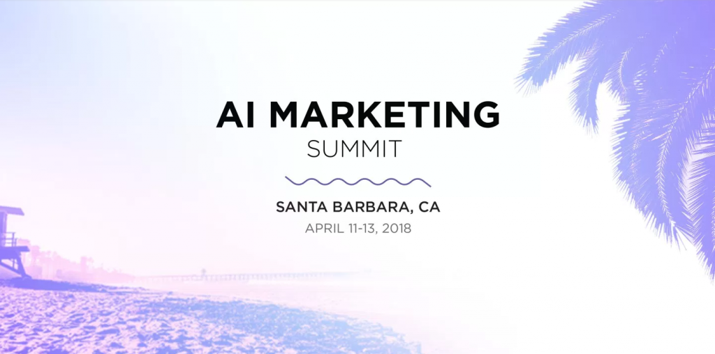 AI Marketing Summit Top 2018 Content Marketing Events