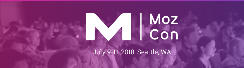 MOZ Con Top 2018 Content Marketing Events