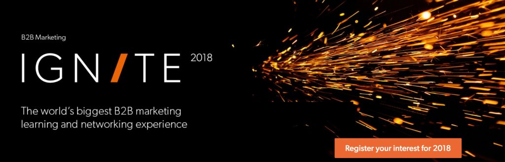 IGNITE 2018 Content Marketing Events