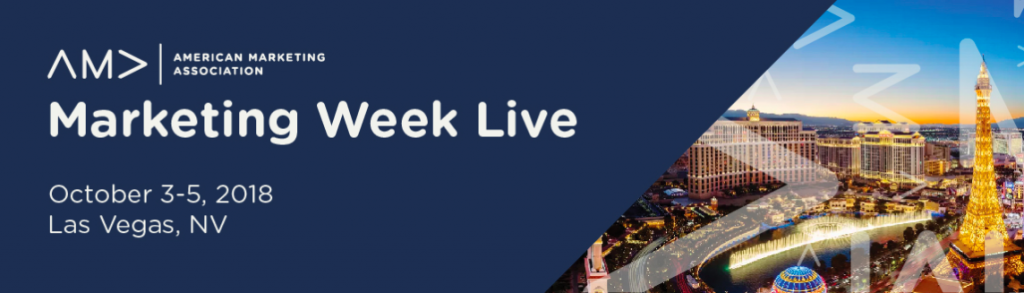 AMA Marketing Week Live Top 2018 Content Marketing Events