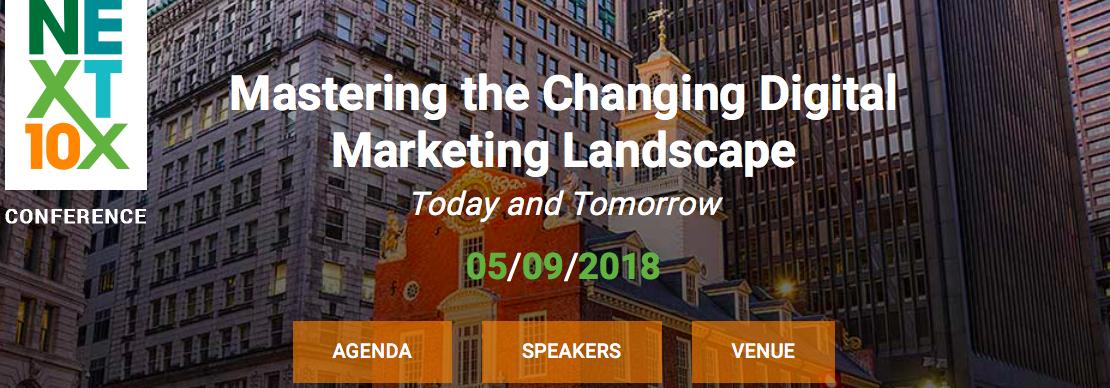 Next 10x 2018 Marketing Conferences