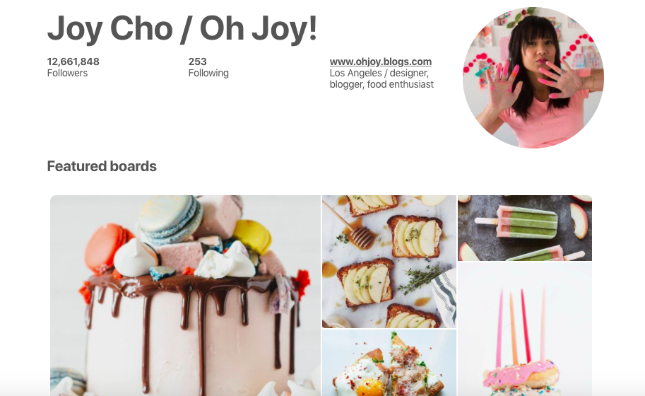 Joy Cho Top Female Social Media Influencer