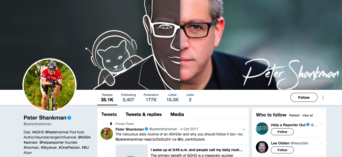 Peter Shankman digital media influencer