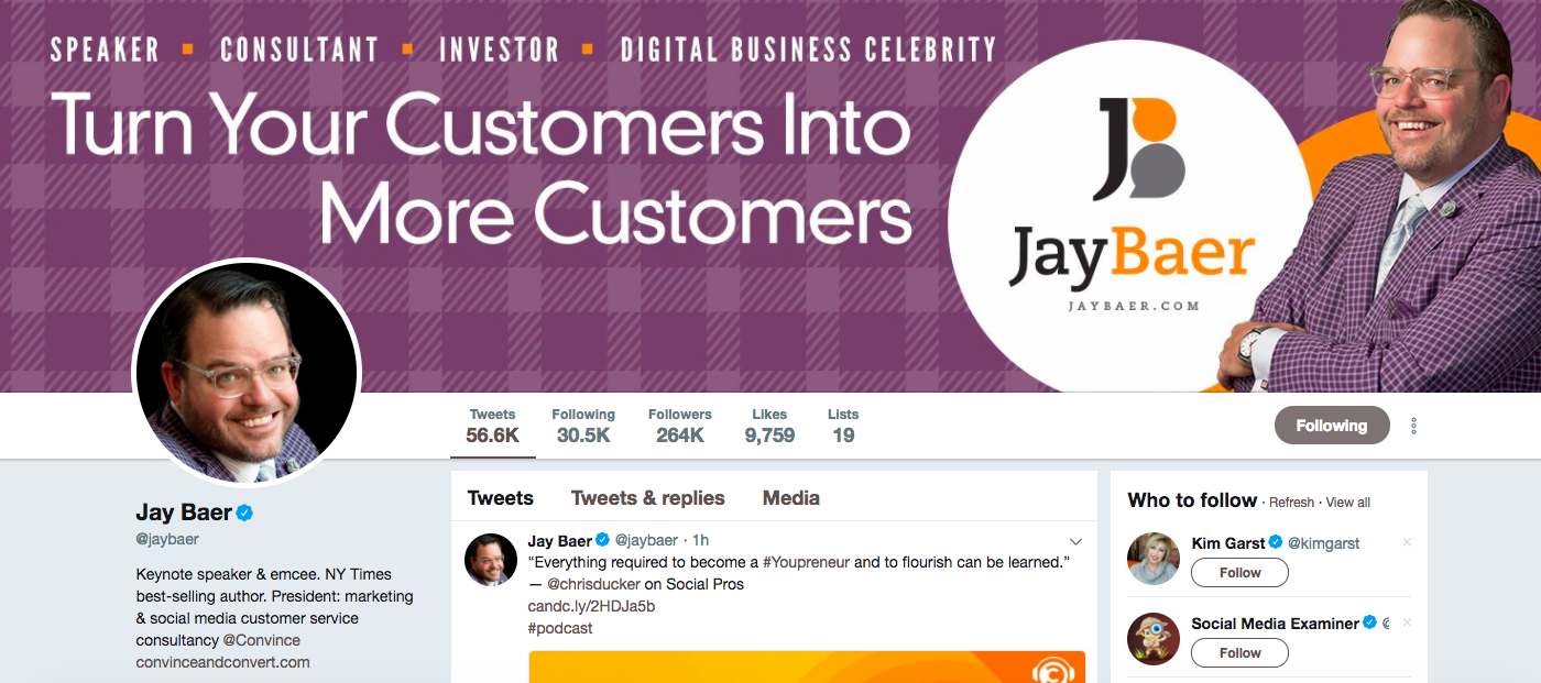 Jay Baer Top Digital Media Influencers