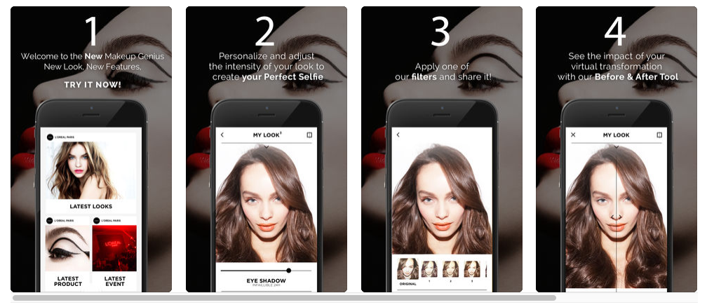 L'Oreal Makeup Genius Personalized Content Marketing