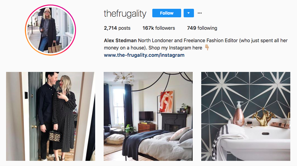Alex Stedman Top Fashion Instagram Influencer
