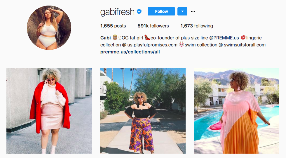 Gabi Gregg Top Fashion Instagram Influencers