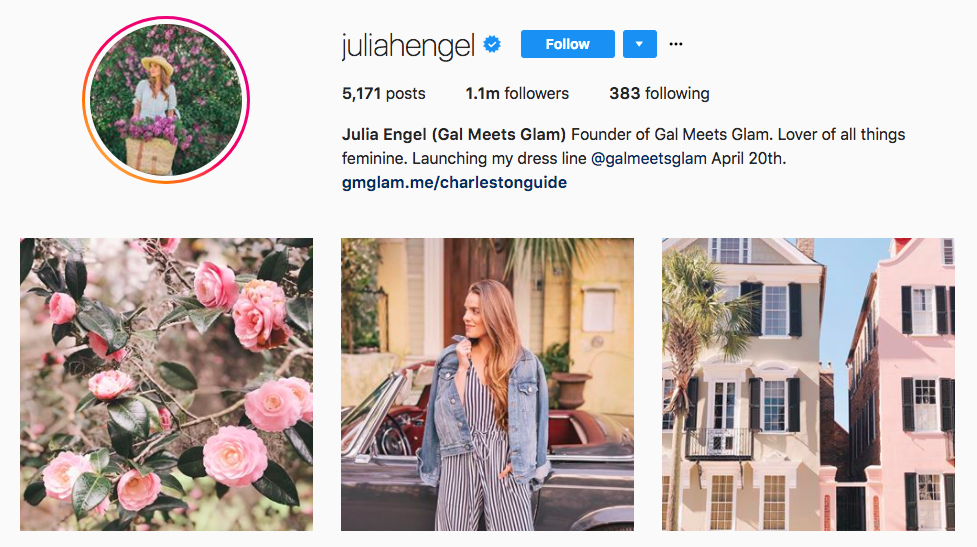 Julia Engel Top Fashion Instagram Influencer