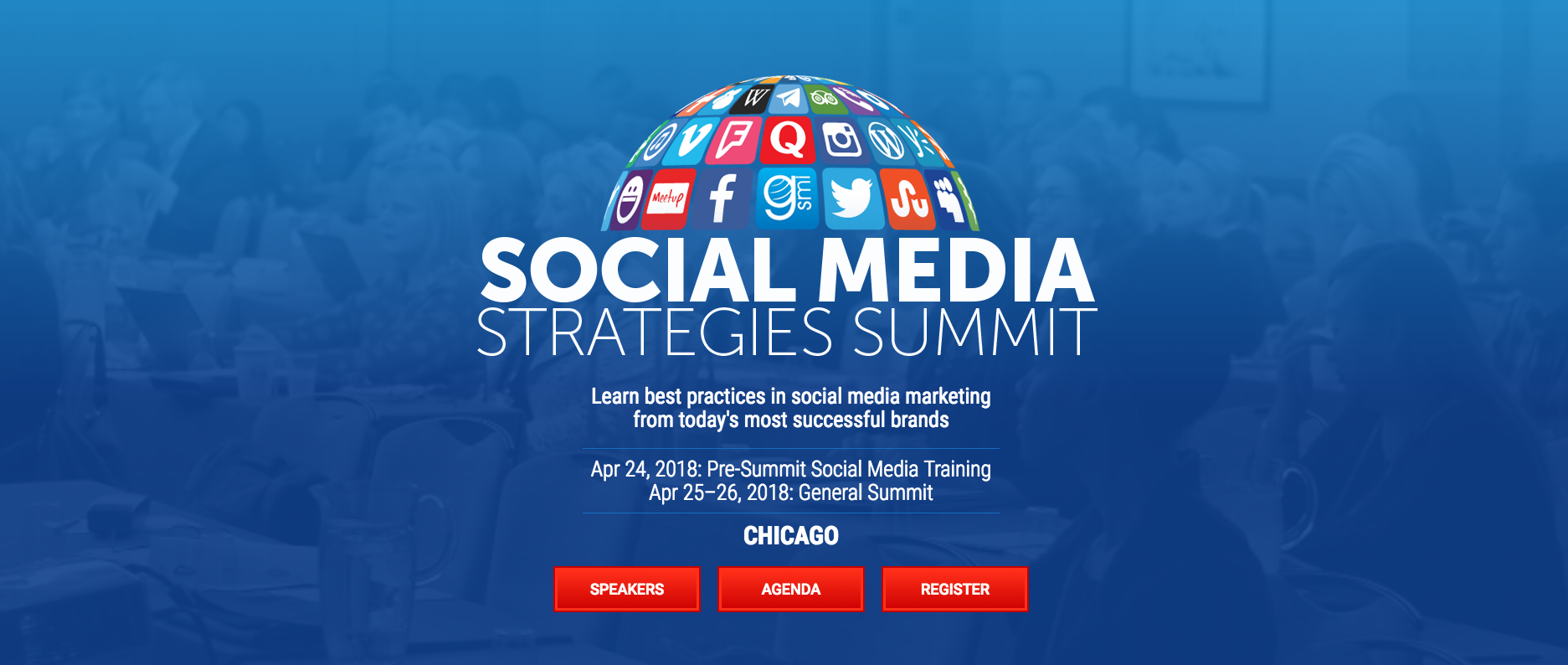 Social Media Strategies Summit 2018 Marketing Conferences