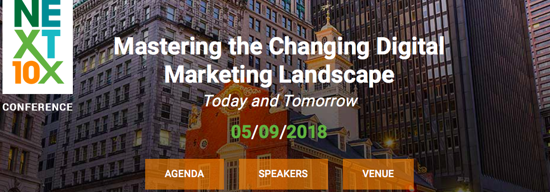 Next 10x 2018 Marketing Conferences