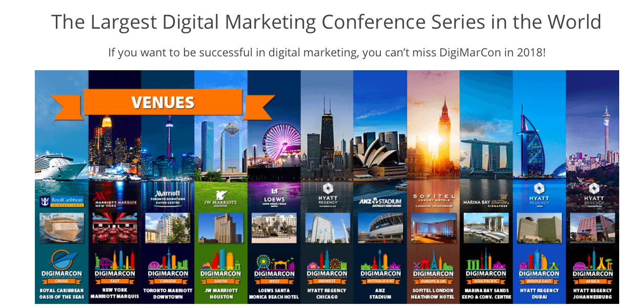 Digimarcon 2018 marketing conferences
