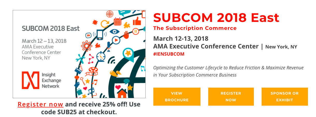 SUBCOM 2018 Marketing COnferences
