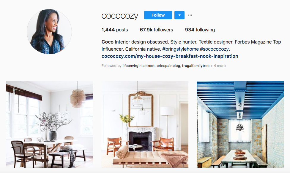 Coco Cozy Top African American Influencers