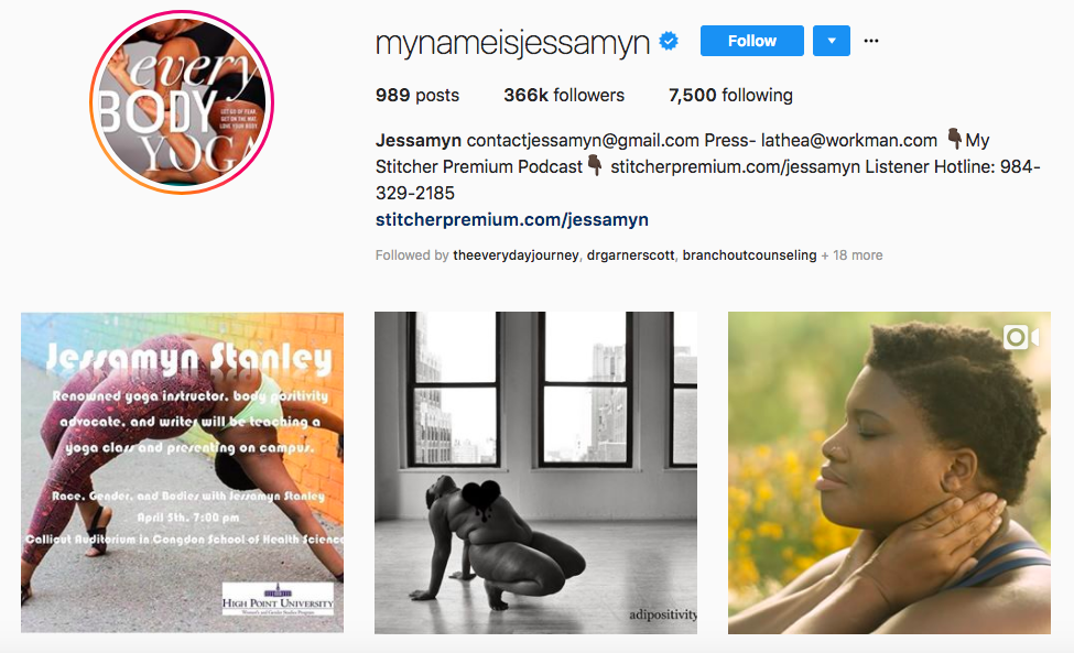 Jessamyn top african american influencers