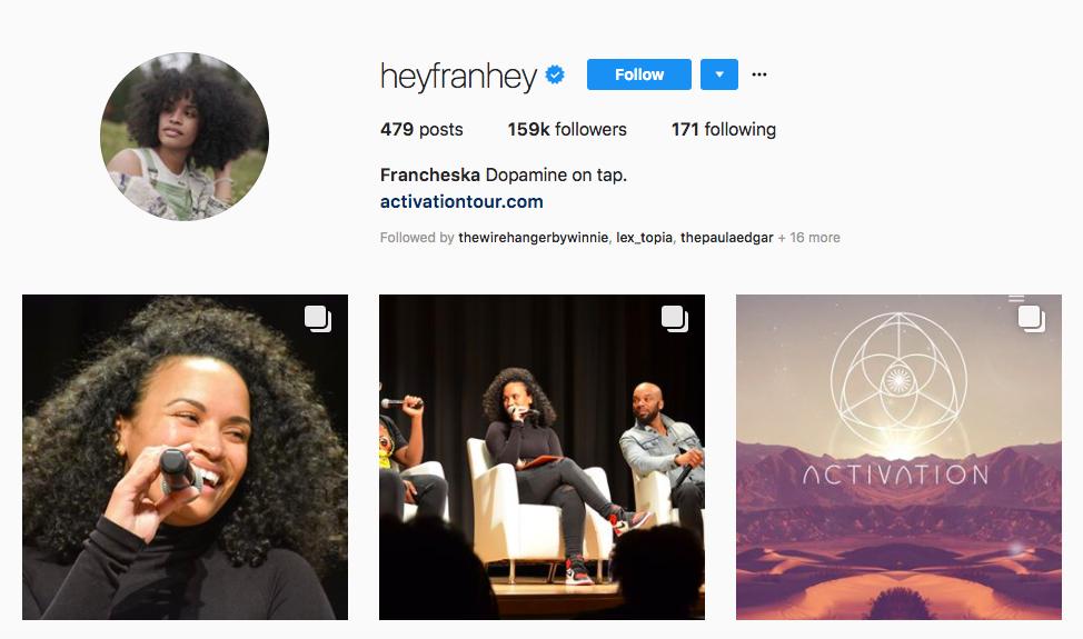 Francheska Top African American Influencer
