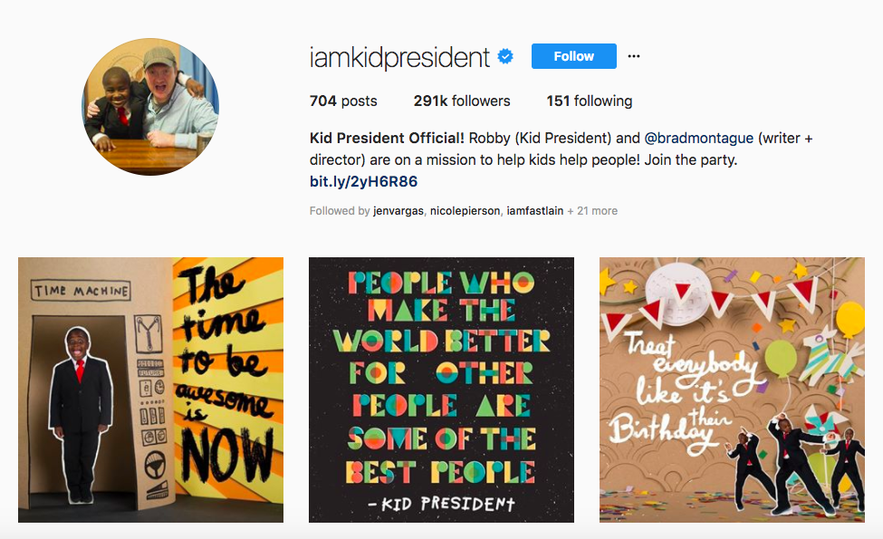 Kid President Top African American Social Media Influencers