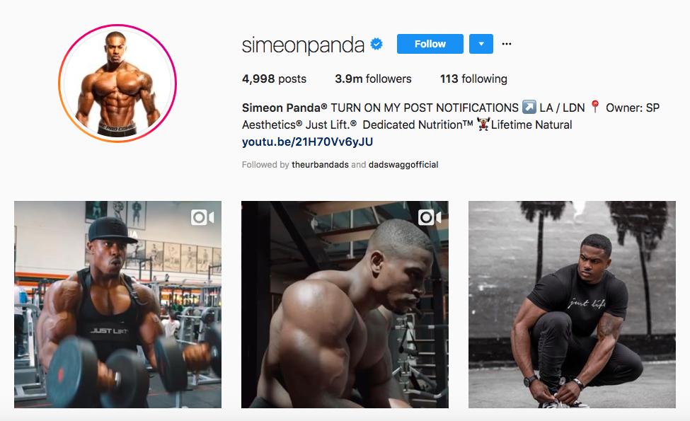 Simeon Panda Top African American Influencer
