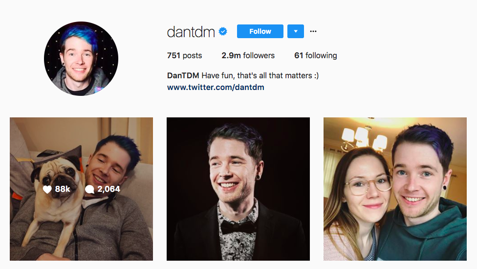 Dan DTM top UK Influencers