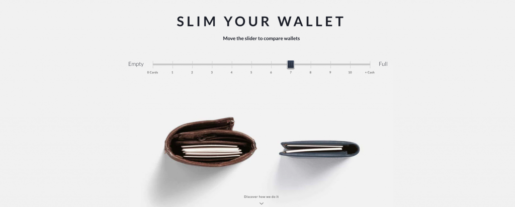Bellroy Interactive Product Page Example