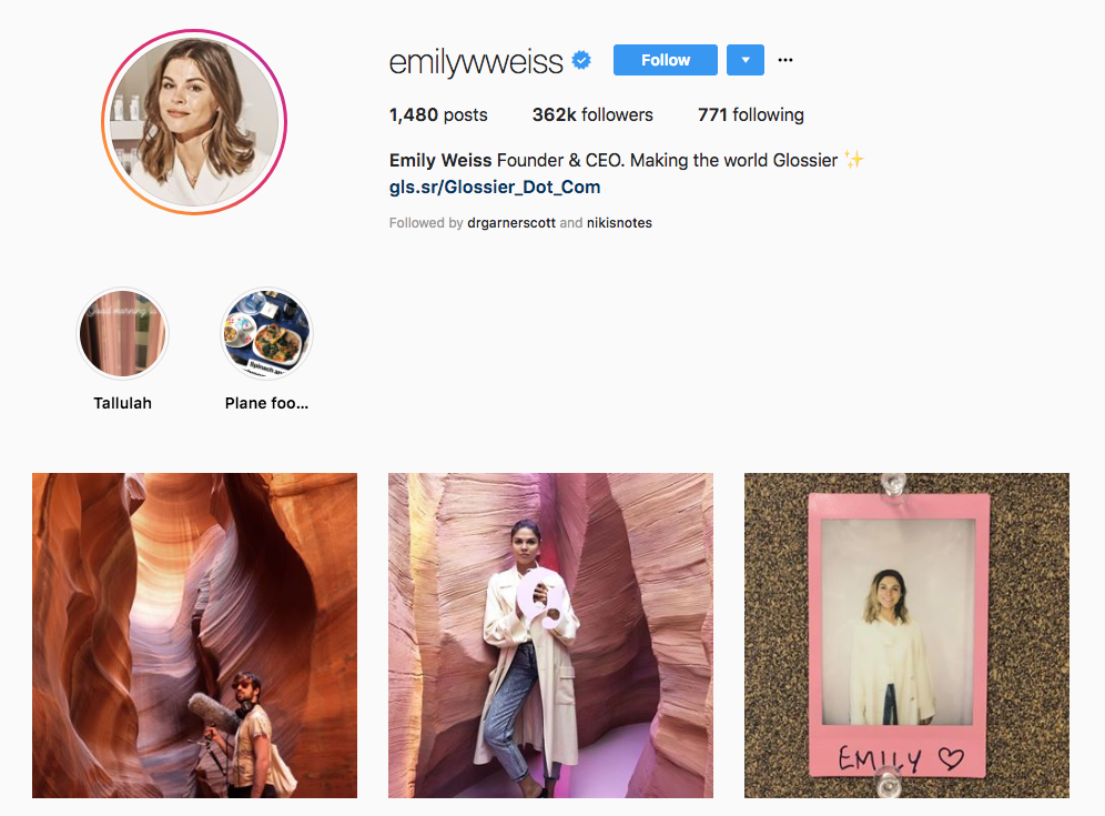 Emily Weiss Skincare Influencers