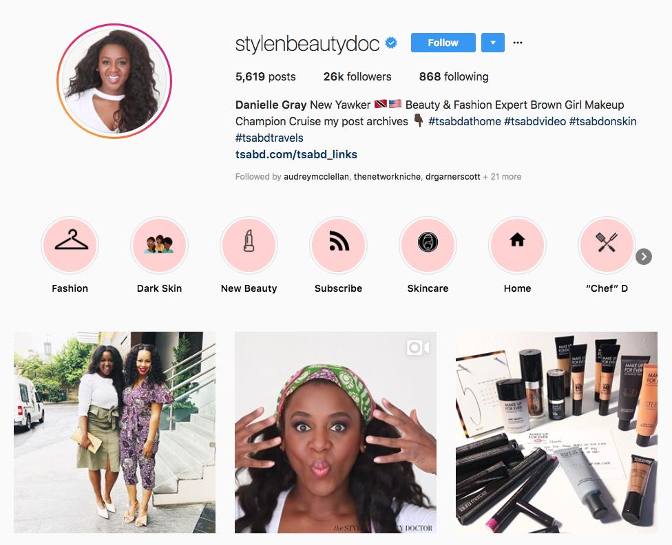 Danielle Gray skincare influencers