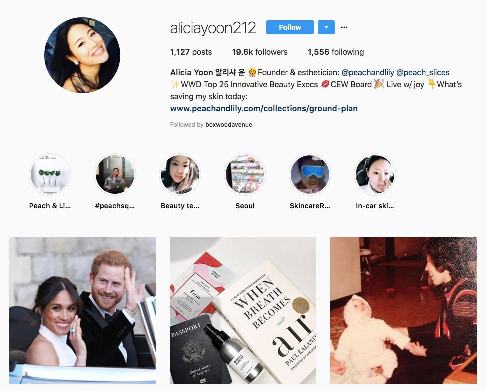 Alicia Yoon skincare influencers