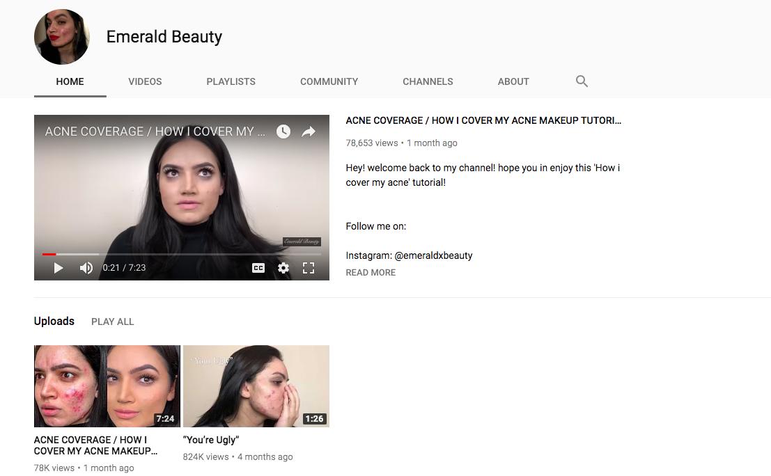 Kadeeja Khan skincare influencers