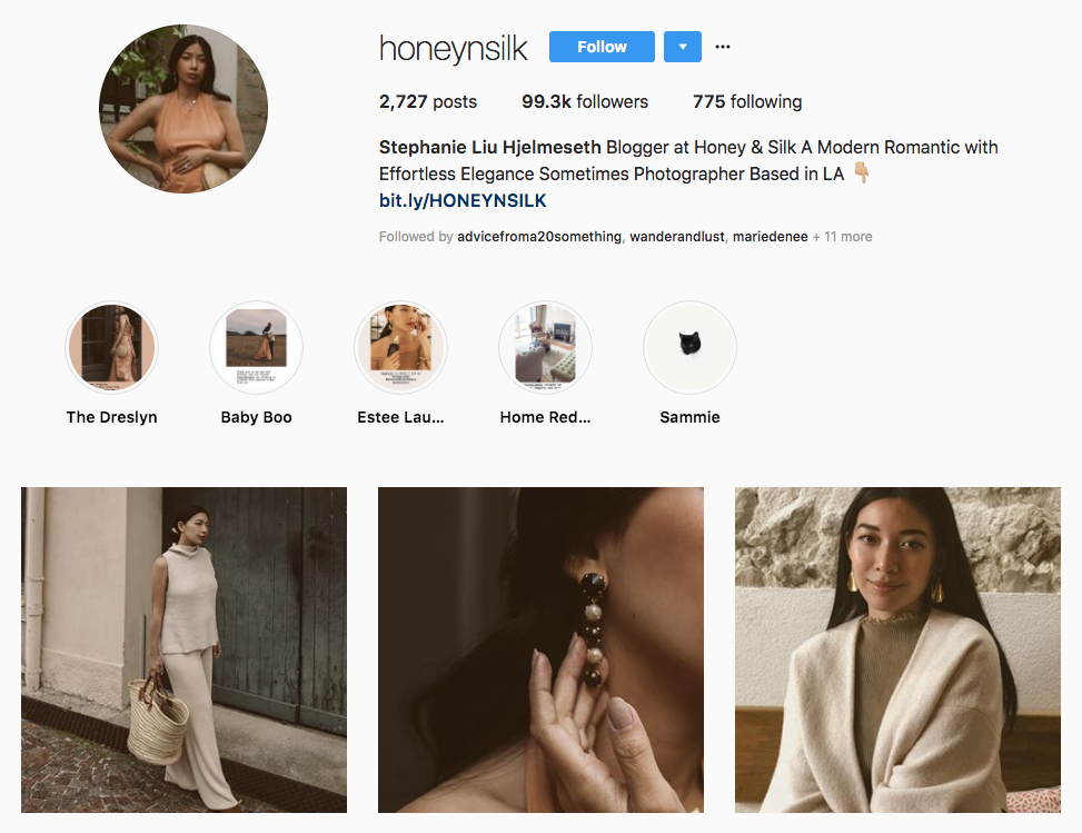 Stephanie Liu Hjelmeseth skincare influencers