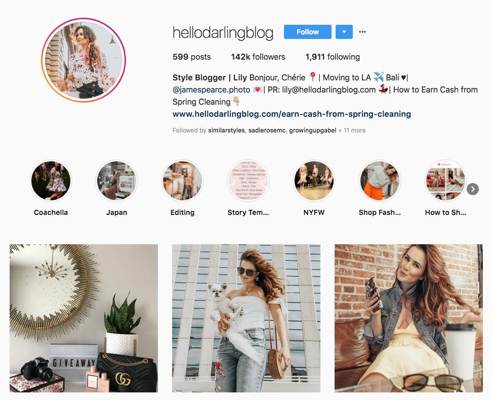 hellodarlingblog Style Blogger skincare influencers