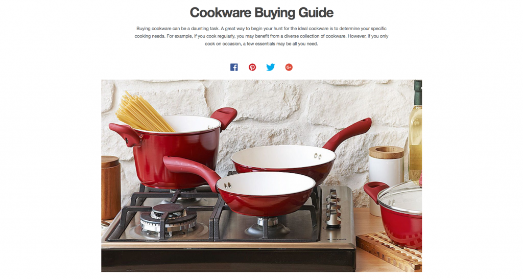 Overstock Ecommerce Writing Buyers Guide