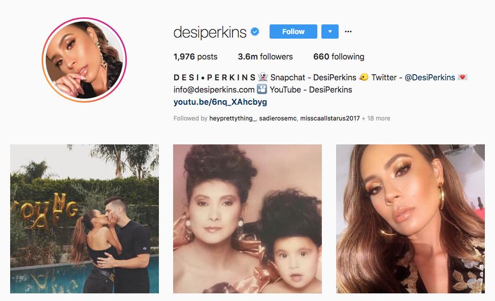 desi perkins top beauty vloggers